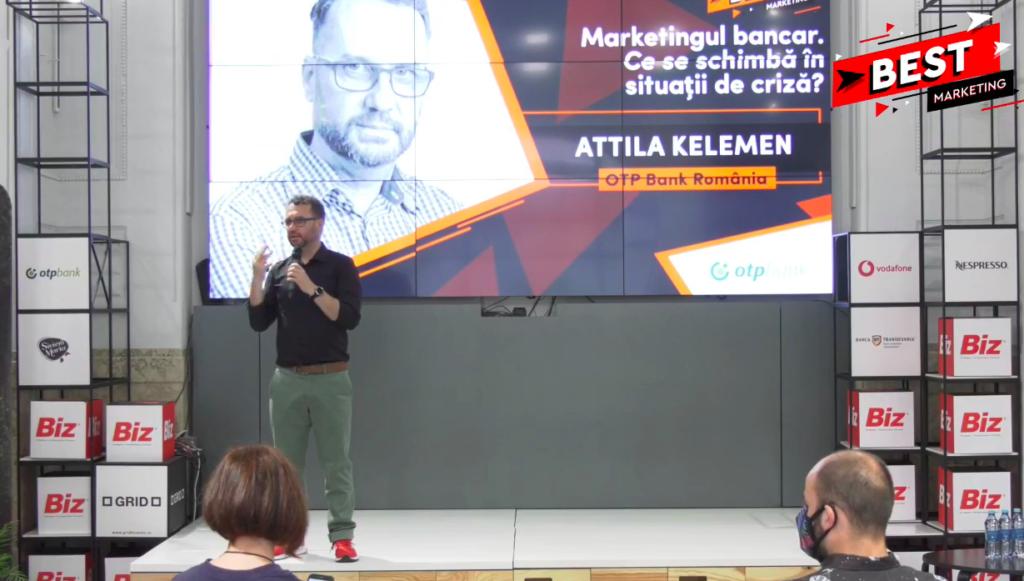Attila Kelemen vorbește despre cum trebuie să se adapteze băncile noului context.