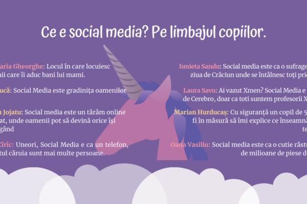 Social Media copii