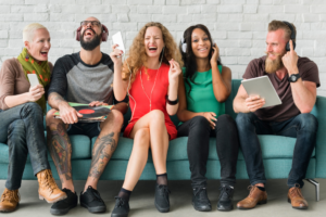 comunitate in social media